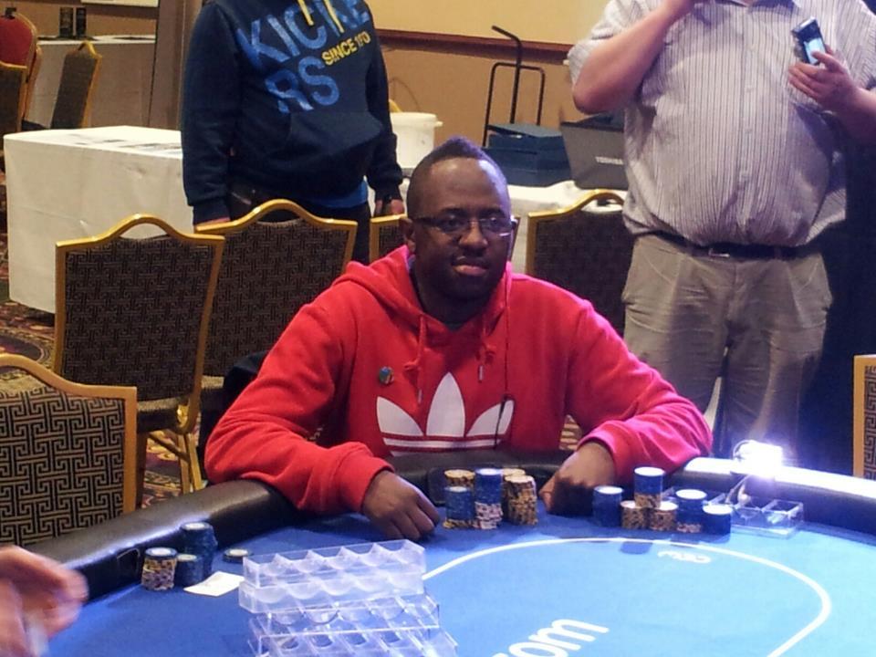 Kabwe Winner Dubline Deaf poker tournament!